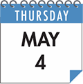 Thursday, May 4
