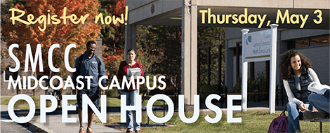 Register for the Midcoast Open House, Thursday May 3rd, 2018
