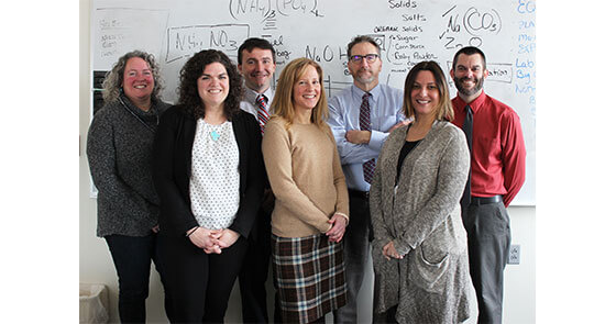 Members of the ATD Early Connections team are (from left) Meridith Comeau, Stacey Kardash, Jason Saucier, Kathleen Doan, Jim Whitten, Amy Lee and Patrick Haviland.