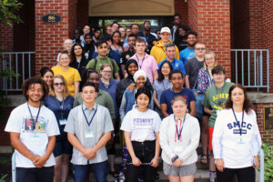 More than 50 students, shown here, signed up for SMCC's annual Summer Academy, now in its fifth year.
